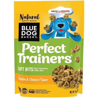 Blue Dog Bakery Perfect Trainers Chicken & Cheese Soft Dog Treats