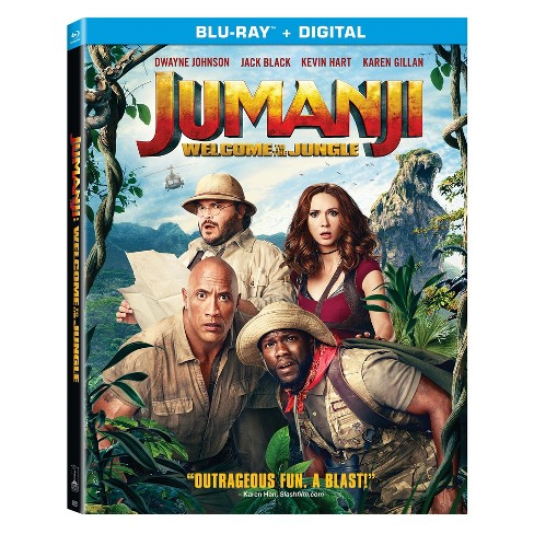 Jumanji: Welcome to the Jungle (Blu-Ray + Digital) - image 1 of 1