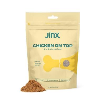 Jinx Chicken Ground Topper Wet Dog Food - 3oz