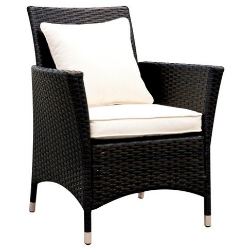 Chadwick 2pk All-Weather Wicker Patio Arm Chairs - Furniture of America - image 1 of 3