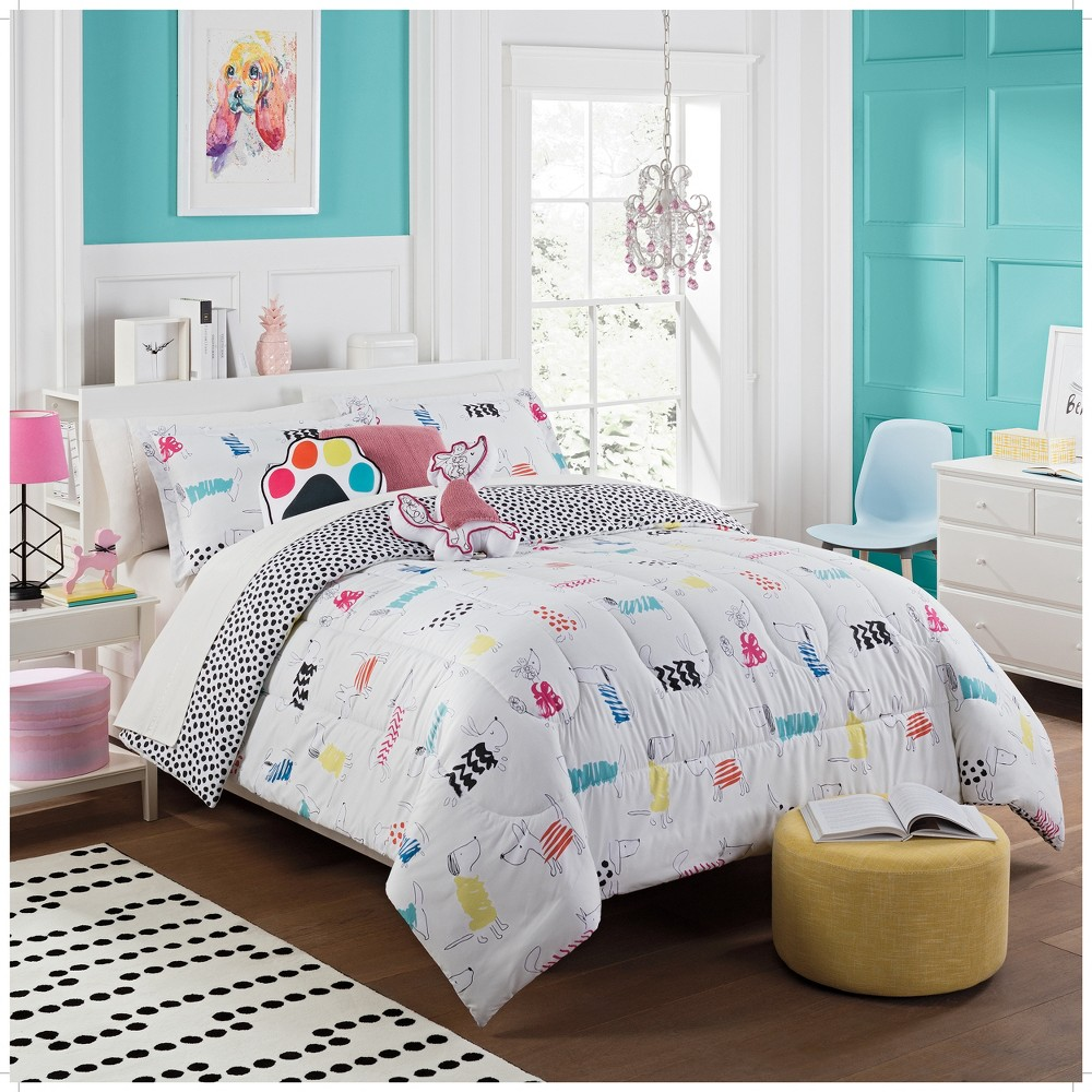 Image of 2pc Twin Adogable Reversible Comforter Set - Waverly Kids