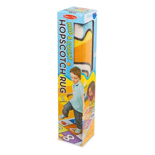 Melissa & Doug Hop & Ct Hopscotch Rug, Kids Unisex image number null