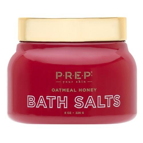 Prep Your Skin Oatmeal Honey Bath Salt - 10oz
