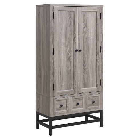 Ivystone Beverage Cabinet -  Sonoma Oak - Room & Joy - image 1 of 4