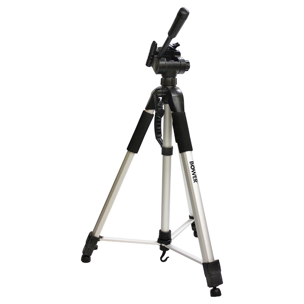 Bower 72 Digital Photo/Video Camera Tripod Steady-Lift Series with Case - Black (VTSL7200)
