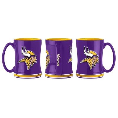 NFL Minnesota Vikings Relief Mug - 14oz