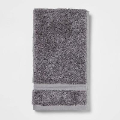 Antimicrobial Hand Towel Dark Gray - Total Fresh