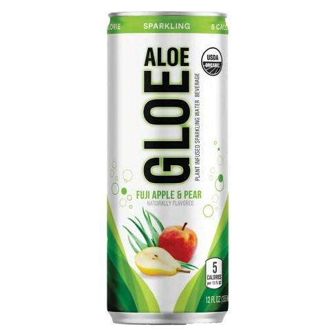 Gloe Aloe Apple Pear Sparkling Water - 12 fl oz Can - image 1 of 1