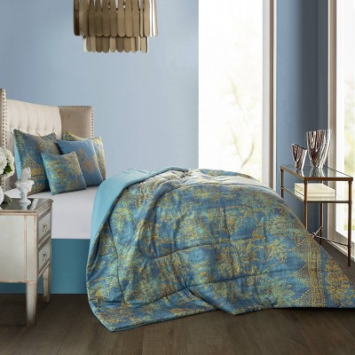 Tatiana Comforter Set with Decorative Pillows - Idea Nuova