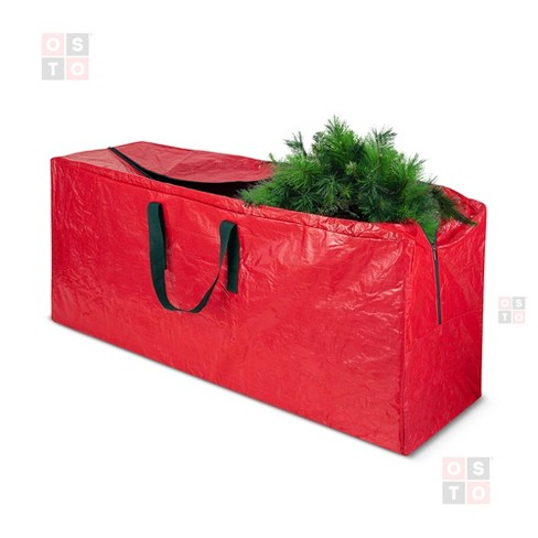 OSTO Waterproof Artificial Christmas Tree Storage Bag for Disassembled Trees up to 9 Feet 65x15x30 Inch - image 1 of 4