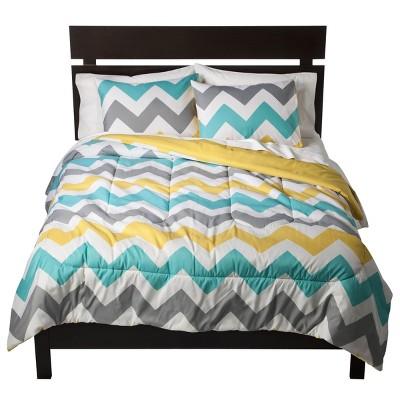 Chevron Comforter (Full/Queen)- Room Essentials™