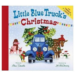 Little Blue Truck's Christmas (Hardcover) by Alice Schertle, Jill McElmurry (Illustrator)