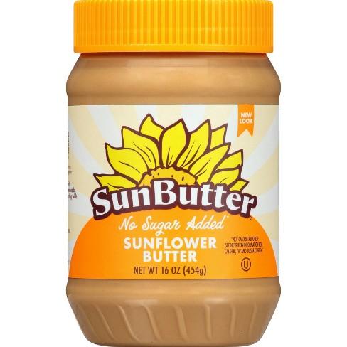 SunButter No Sugar Added Sunflower Butter - 16oz - image 1 of 4