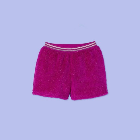 Girls' Pajama Shorts - More Than Magic™ Purple - image 1 of 2