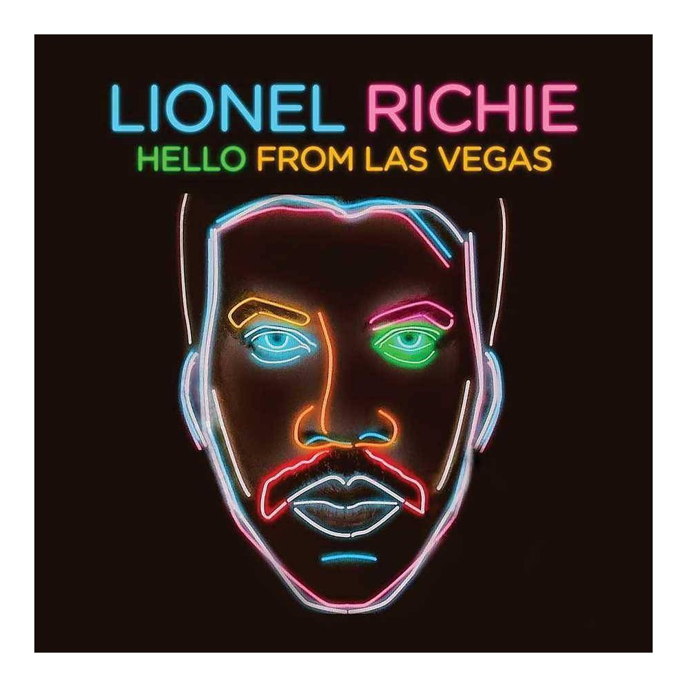 Lionel Richie Hello From Las Vegas 2 Lp Vinyl