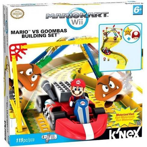 K Nex Super Mario Mario Kart Wii Mario Vs Goombas Set 38467