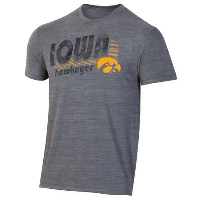 NCAA Iowa Hawkeyes Men's Short Sleeve Gray T-Shirt