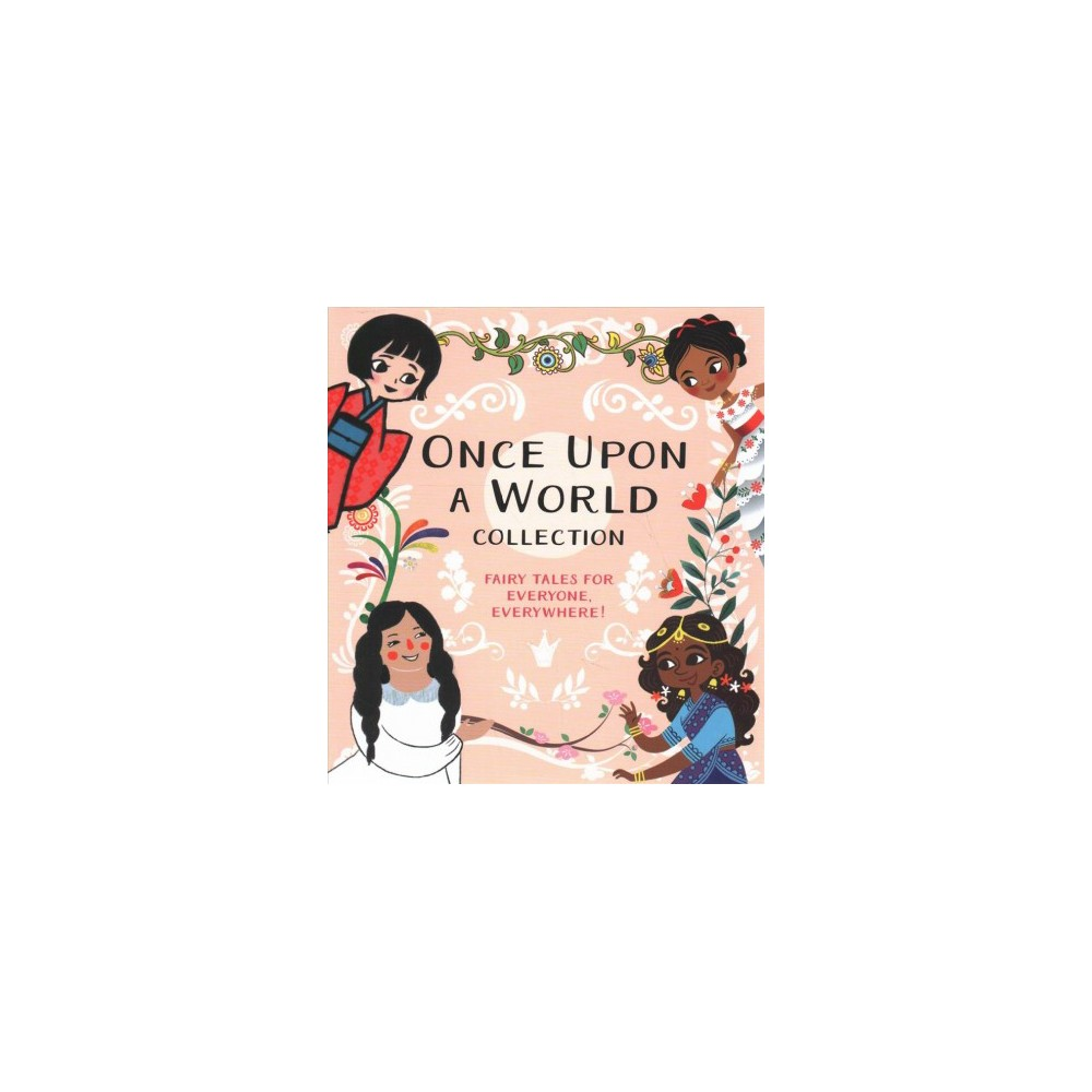 Once upon a World Collection : Snow White; Cinderella; Rapunzel; The Princess and the Pea - Brdbk