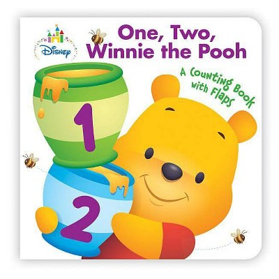 Disney Baby One, Two, Winnie the Pooh - (Board Book)