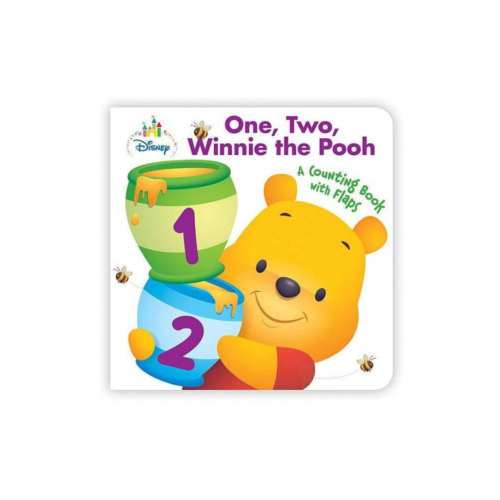 Disney Baby One Two Winnie The Pooh Board Book