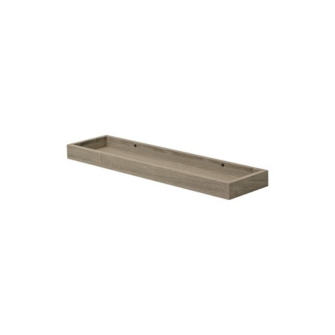 "24"" x 6"" Loggia Shelf Driftwood - Dolle Shelving - image 1 of 3"