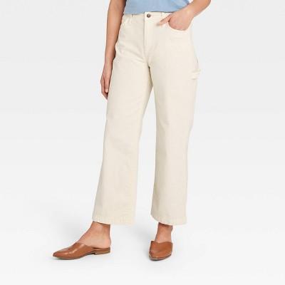 Women's High-Rise Wide Leg Carpenter Jeans - Universal Thread™