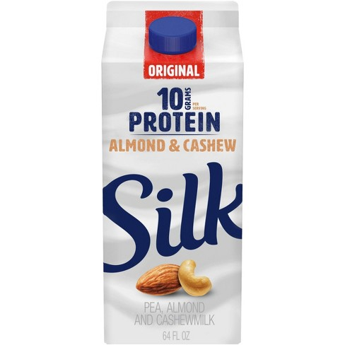 Silk Protein Original Pea, Almond & Cashew Milk - 0.5gal - image 1 of 4