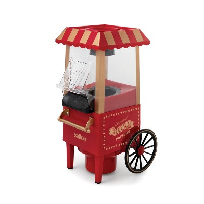Salton Electric Old Fashioned Popcorn Maker - Red