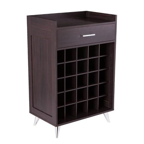 Henson Wine Storage Table Black - Aiden Lane - image 1 of 4