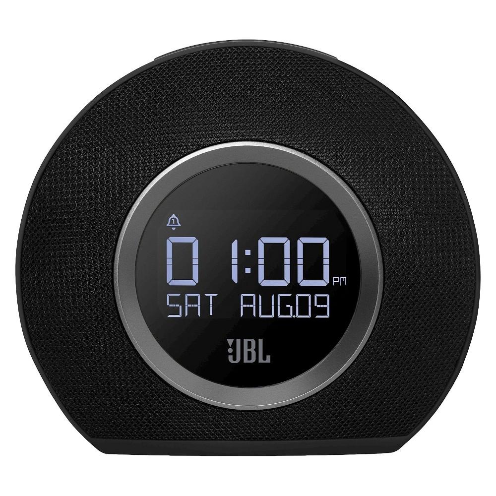 JBL Horizon Bluetooth Clock Radio- Black (JBLHORIZON)