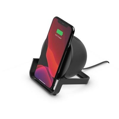 Belkin 10W Qi Wireless and Bluetooth Speaker Stand - Black