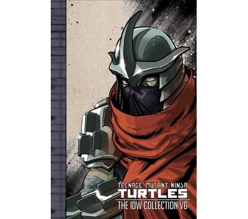 Teenage Mutant Ninja Turtles The IDW Collection 6 -  by Paul Allor & Andy  Kuhn (Hardcover) - image 1 of 1