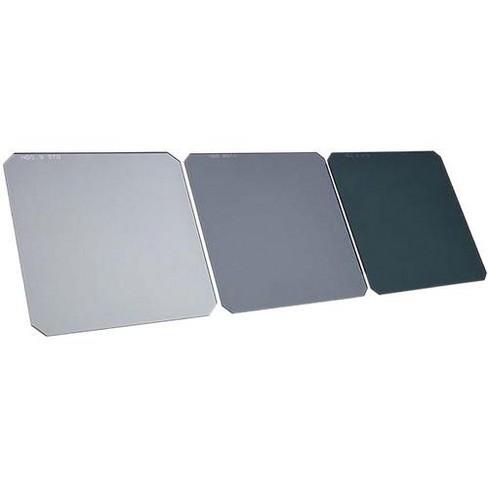 Formatt Hitech 100x100mm 1.5mm Resin Standard Neutral Density Pro Kit, Includes 0.6 (2 stop), 0.9 (3 stops), 1.2 (4 stops) Filters - image 1 of 1