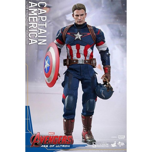 Hot Toys Avengers Age of Ultron Hot Toys 1/6th Scale Action Figure Captain America - image 1 of 4