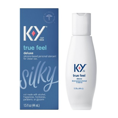 K-Y True Feel Deluxe Silicone-Based Personal Lube - 1.5oz