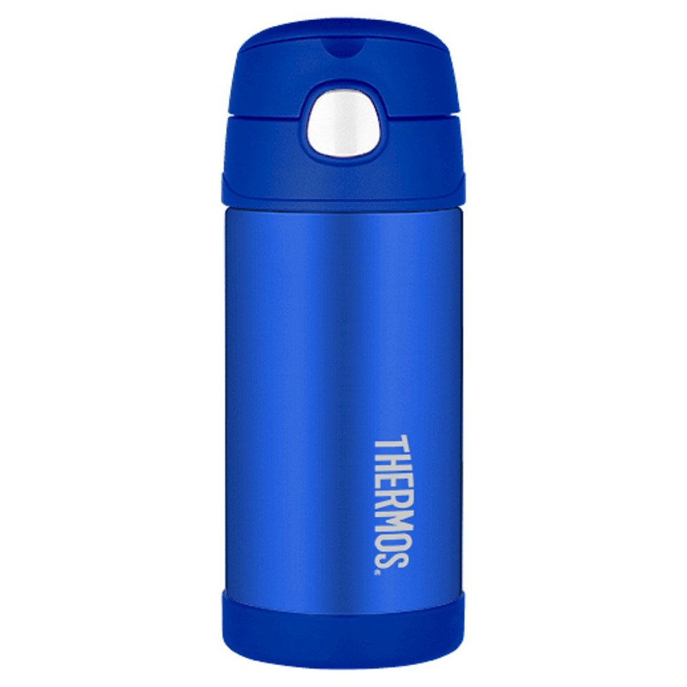 Image of Thermos 12oz FUNtainers Straw Water Bottle - Blue
