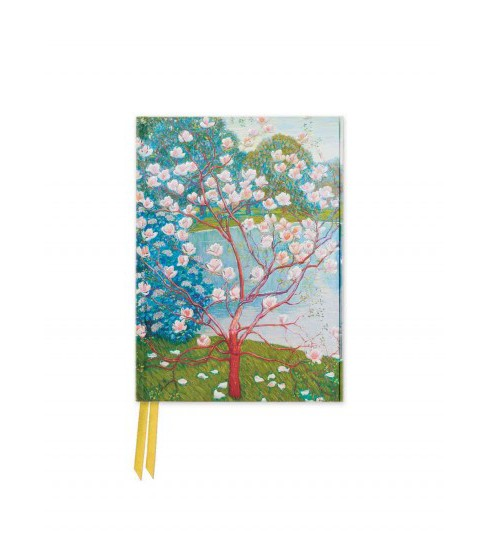 List : Magnolia Trees - Foiled Pocket Journal (Hardcover) - image 1 of 1