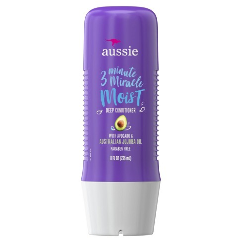Aussie Paraben-Free Miracle Moist 3 Minute Miracle with Avocado for Dry Hair Repair - 8 fl oz - image 1 of 2