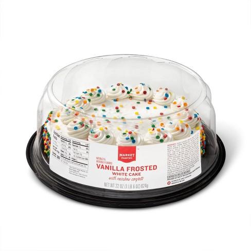 """Vanilla Celebration Cake - 8"""" - Market Pantry™ - image 1 of 3"""