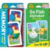 Get Ready Game Cards 2-pack - Go Fish & Memory Match Farm, Ages 3-Up (School Zone Publishing) - image 2 of 4