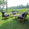 Caterina Teak Lounge Chair with Cushion - Cambridge Casual - image 3 of 4