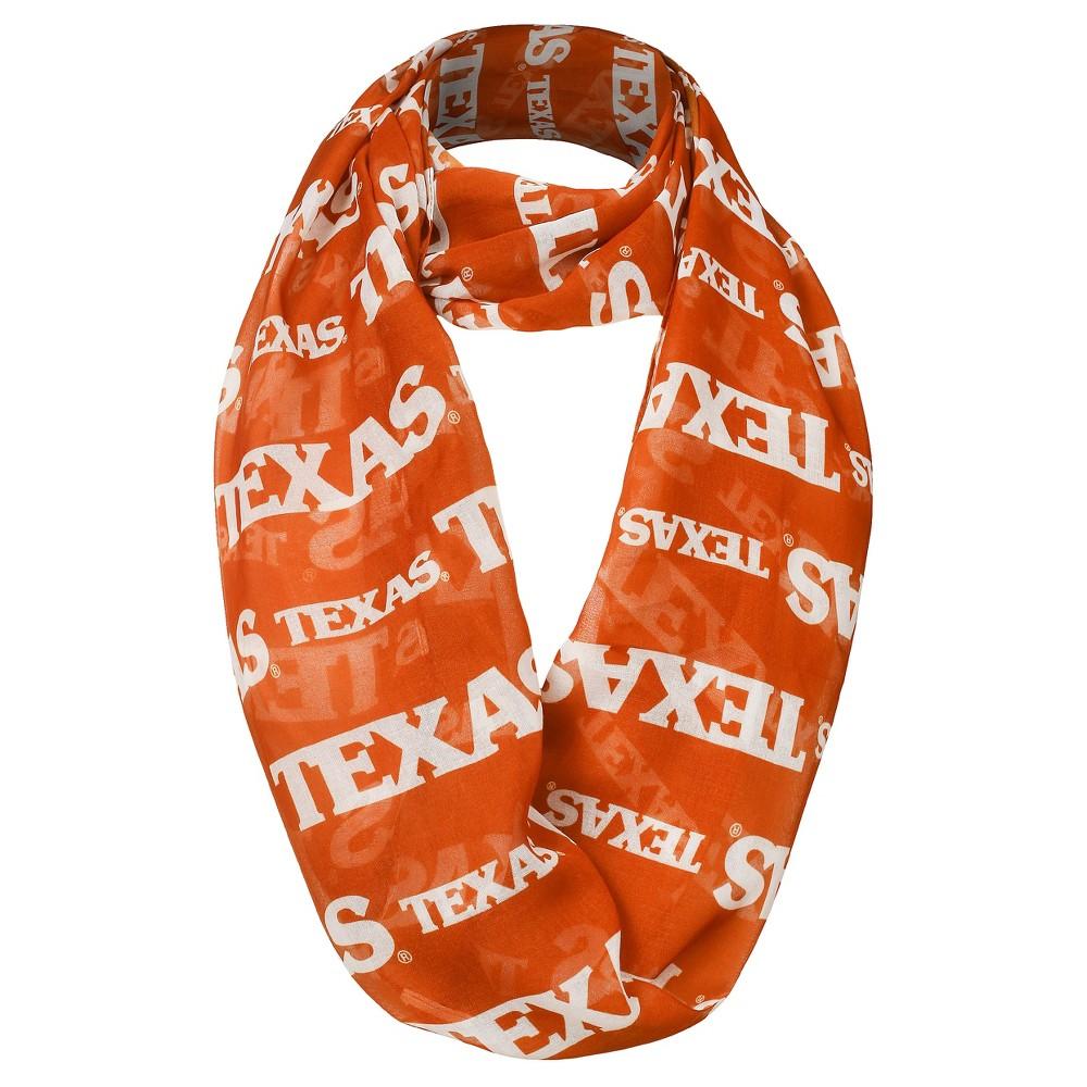 NCAA Women's Fashion Scarves Texas Longhorns - Orange