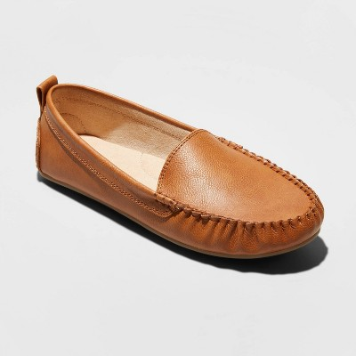 Women's Kirby Faux Leather Moccasin Flat Loafers   Universal Thread™ by Universal Thread