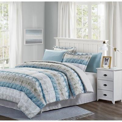 Raphael Bed in a Bag Comforter Set - Brown & Grey