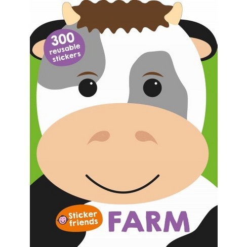 Sticker Friends: Farm - by  Roger Priddy (Paperback) - image 1 of 1