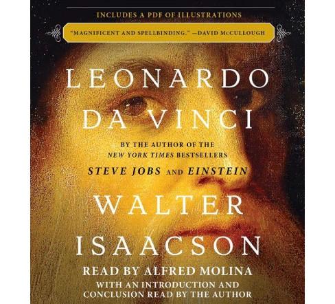 Leonardo Da Vinci Abridged Cd Spoken Word Walter Isaacson