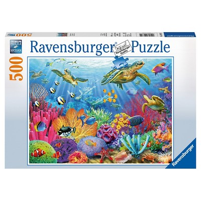Ravensburger Tropical Waters Jigsaw Puzzle - 500pc