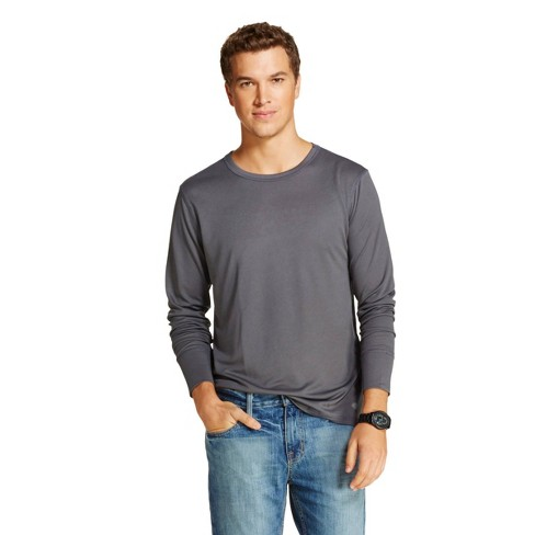Dickies Men's Lightweight Performance Tech Mesh Thermal Shirt Charcoal L - image 1 of 1