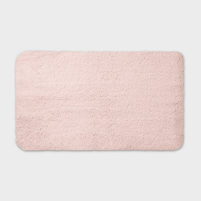 "20""x34"" Performance Nylon Bath Rug Blush Pink - Threshold™"