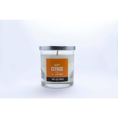 Citrus White Candle - Love Cork Screw